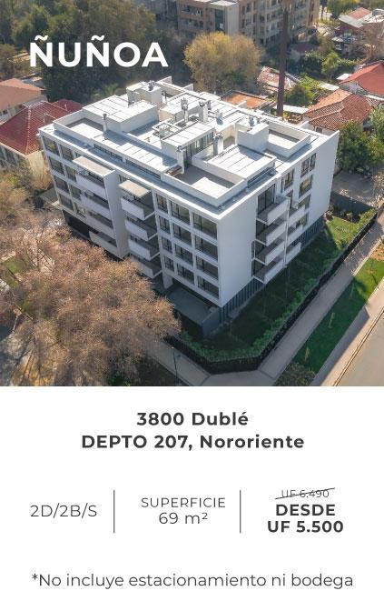 Dublé, Ñuñoa